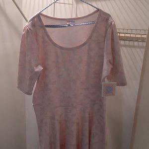 3XL new LuLaRoe dress never worn with tags